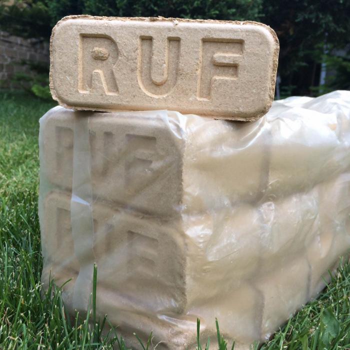 Брикеты RUF (РУФ) микс 10кг