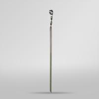 Шампур плоский  57 см*2мм