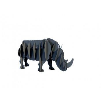 Мангал в виде носорога