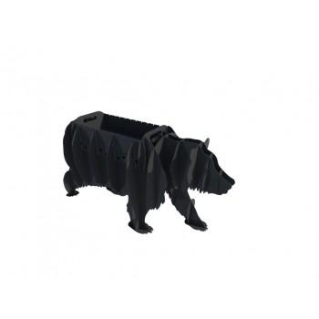 Мангал в виде медведя