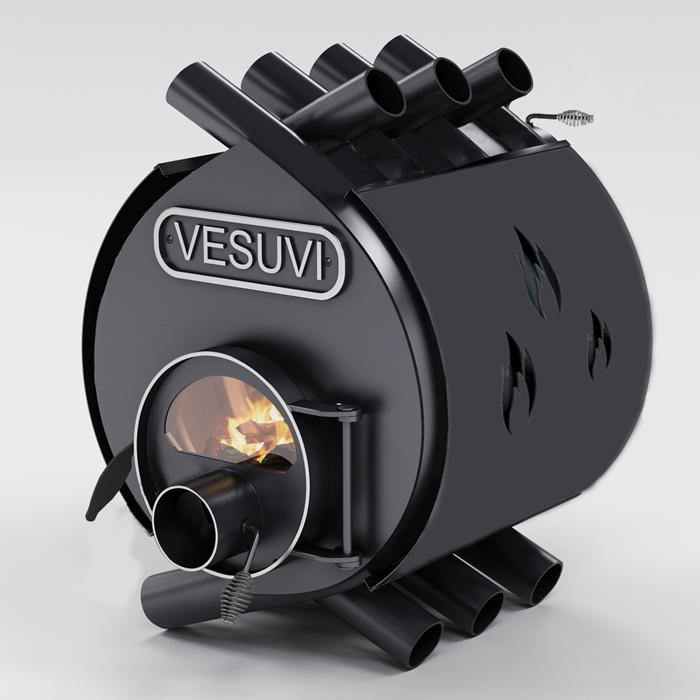 Булерьян «Vesuvi» classic «ОO»+стекло и защитный кожух