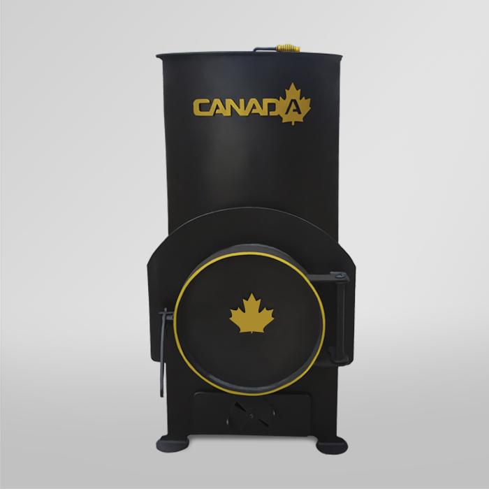 Буржуйка Canada 85 м куб.