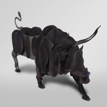 Мангал в виде быка