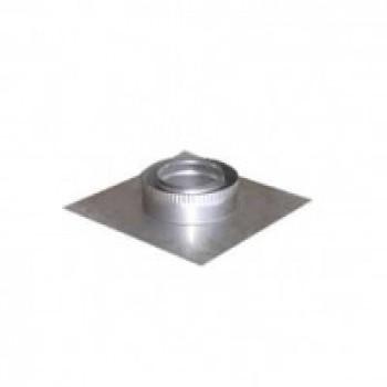 Ø100|160 Подставка разгр. Настен. нержавеющая сталь