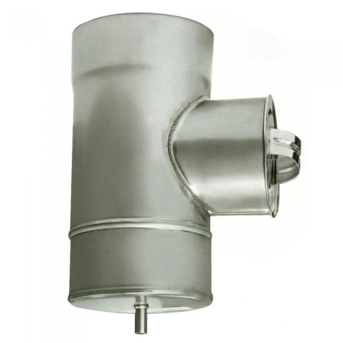 ø110/180 Ревизия к/оц 1мм нержавеющая AISI 304 сталь