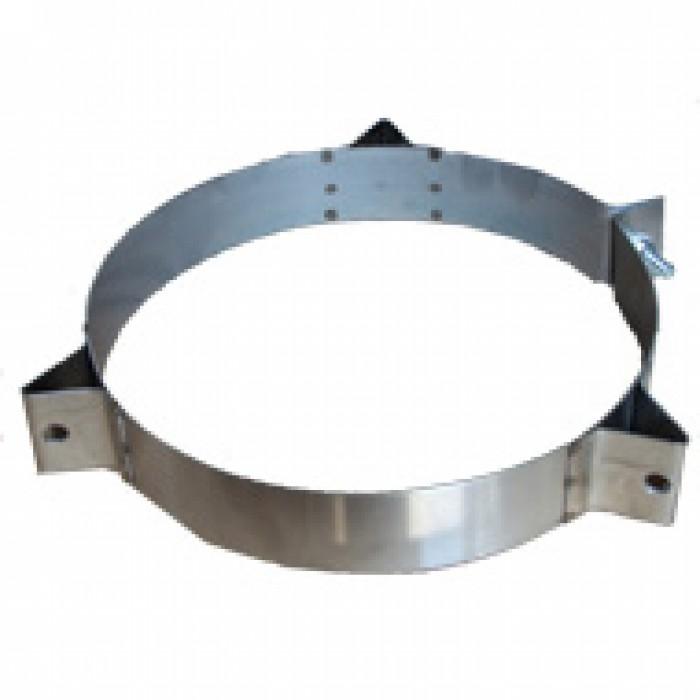 Ø230 Кольцо под растяжку нержавеющая AISI 304 сталь