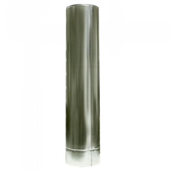 ø140/200 Труба  0,5м к/оц 1мм нержавеющая AISI 304 сталь