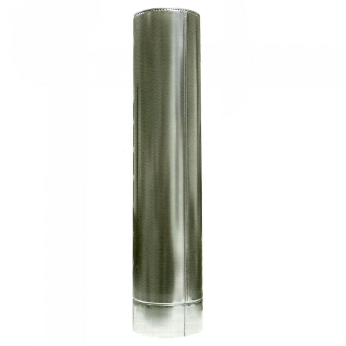 Ø150/250 Труба 0,5м к/к нержавеющая AISI 321 сталь