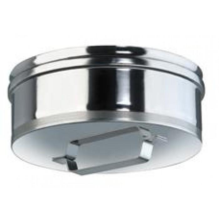 Ø230 Заглушка с ручкой нержавеющая AISI 304 сталь