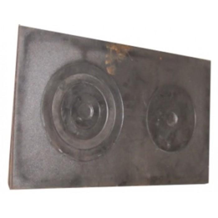 Плита 2-х конфорочная